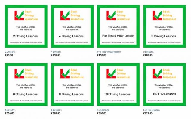Book Driving Lessons